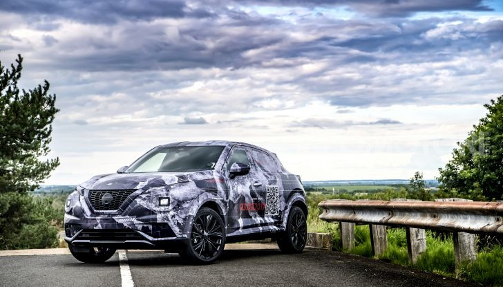Nuova Nissan Juke 2020: la seconda generazione pronta al debutto - Foto 4 di 12