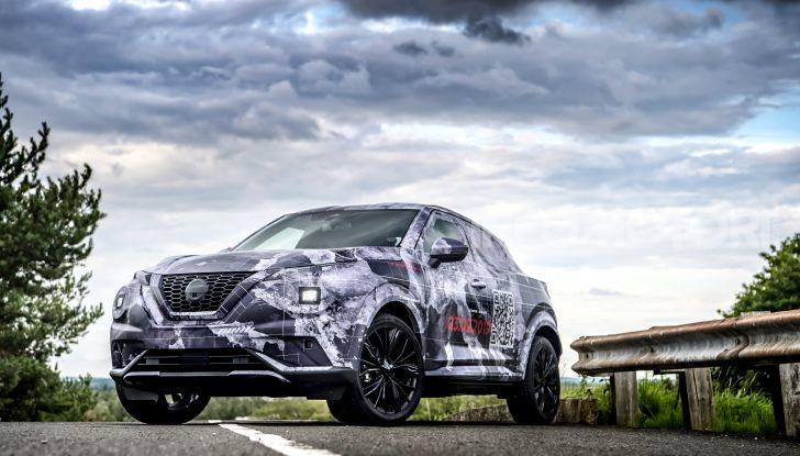 Nuova Nissan Juke 2020: la seconda generazione pronta al debutto - Foto 5 di 12