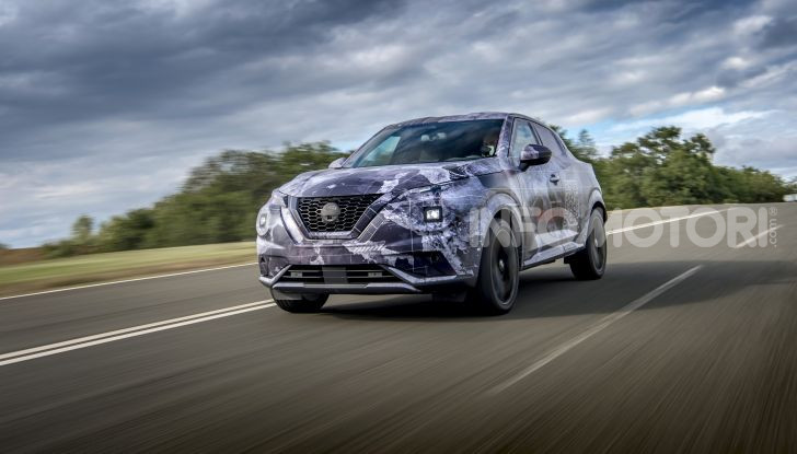 Nuova Nissan Juke 2020: la seconda generazione pronta al debutto - Foto 10 di 12