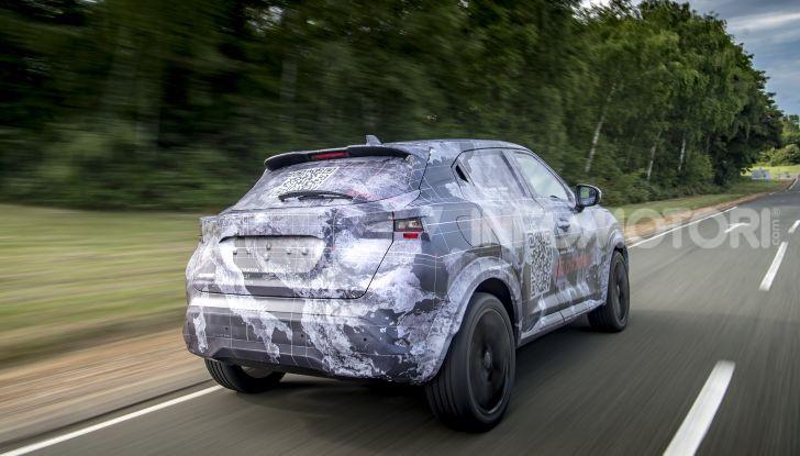 Nuova Nissan Juke 2020: la seconda generazione pronta al debutto - Foto 8 di 12