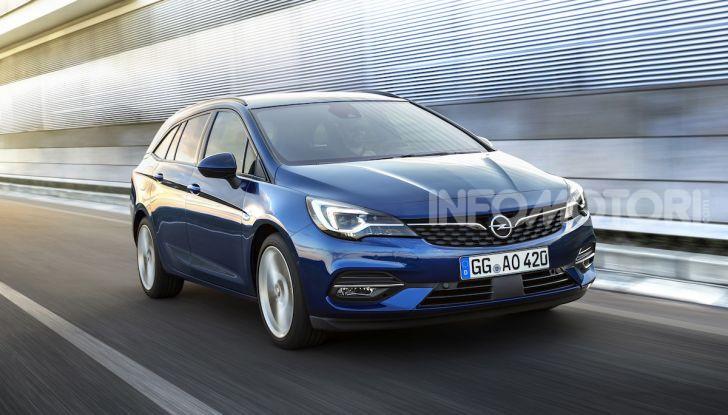 Le Sports Tourer di Opel tra le migliori Station Wagon del 2020 - Foto 6 di 26