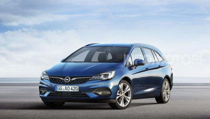 Le Sports Tourer di Opel tra le migliori Station Wagon del 2020 - Foto 2 di 26