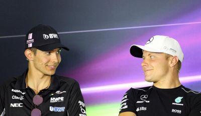 F1, Mercato Piloti 2019: Bottas confermato in Mercedes, Ocon torna in Renault al posto di Hulkenberg