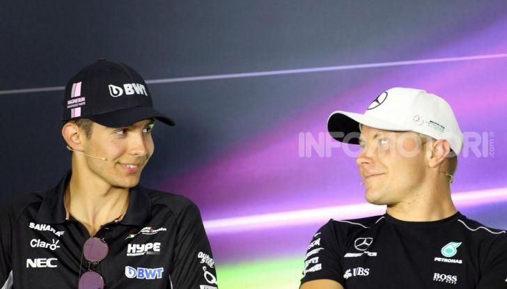 F1, Mercato Piloti 2019: Bottas confermato in Mercedes, Ocon torna in Renault al posto di Hulkenberg - Foto 1 di 10