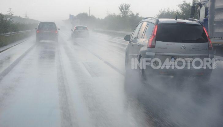 Traffico e pioggia