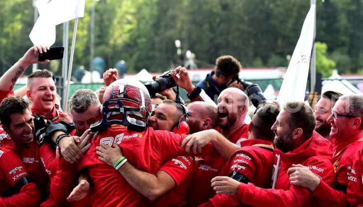Leclerc vince a Spa e Monza come Schumacher nel 1996: nasce un mito? - Foto 3 di 10