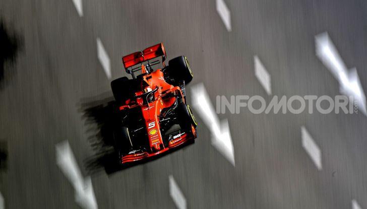 F1 2019, GP di Singapore: la Ferrari fa doppietta con Vettel che torna alla vittoria - Foto 1 di 15