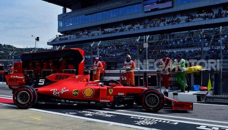F1 2019, GP di Russia: Hamilton è lo Zar di Sochi e la Mercedes fa doppietta, solo terzo Leclerc - Foto 10 di 13