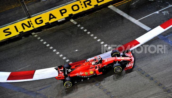 F1 2019, GP di Singapore: la Ferrari fa doppietta con Vettel che torna alla vittoria - Foto 2 di 15