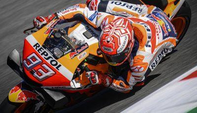 MotoGP 2019, GP di Aragon: Marquez comanda le libere davanti alle Yamaha ufficiali