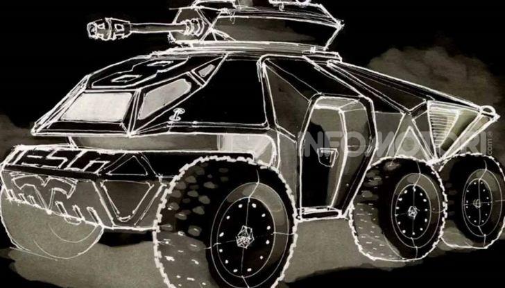 Il concept di un carro armato Tesla