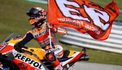 MotoGP 2019: Marquez vince a Misano in volata su Quartararo, terzo Vinales davanti a Rossi