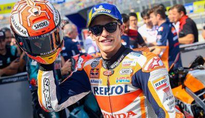 MotoGP 2019, GP di Aragon: Marquez centra la nona pole position stagionale davanti a Quartararo e Vinales