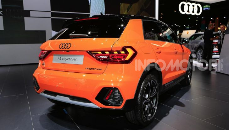 Audi A1 citycarver, provata la all terrain da città - Foto 4 di 9