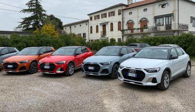 Audi A1 citycarver, provata la all terrain da città