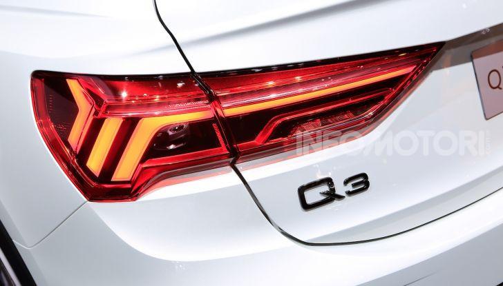 AudiQ3Sportback: il primo SUV coupé compatto della casa dei quattro anelli - Foto 6 di 17