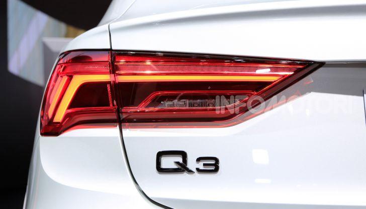 AudiQ3Sportback: il primo SUV coupé compatto della casa dei quattro anelli - Foto 14 di 17