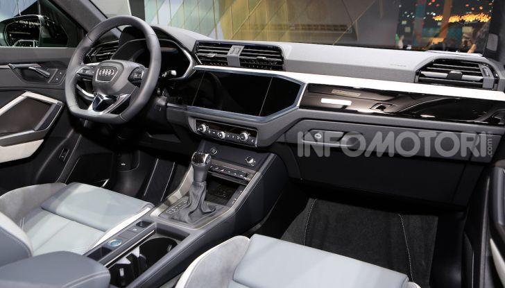 AudiQ3Sportback: il primo SUV coupé compatto della casa dei quattro anelli - Foto 15 di 17