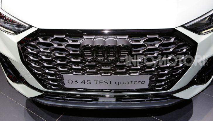 AudiQ3Sportback: il primo SUV coupé compatto della casa dei quattro anelli - Foto 10 di 17