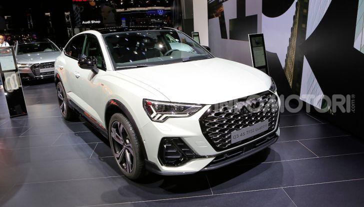 AudiQ3Sportback: il primo SUV coupé compatto della casa dei quattro anelli - Foto 1 di 17