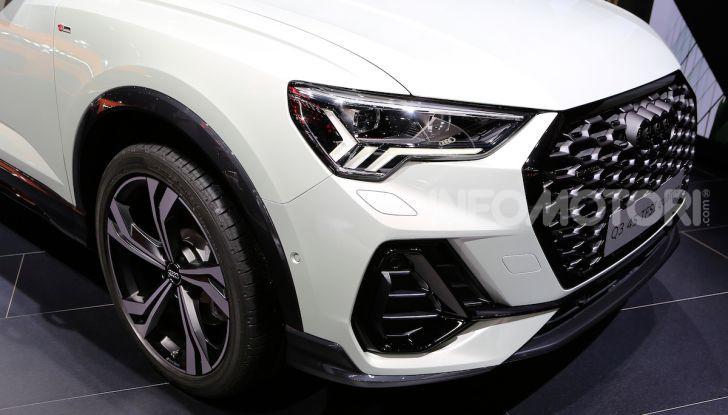 AudiQ3Sportback: il primo SUV coupé compatto della casa dei quattro anelli - Foto 7 di 17