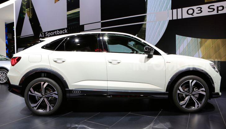 AudiQ3Sportback: il primo SUV coupé compatto della casa dei quattro anelli - Foto 3 di 17