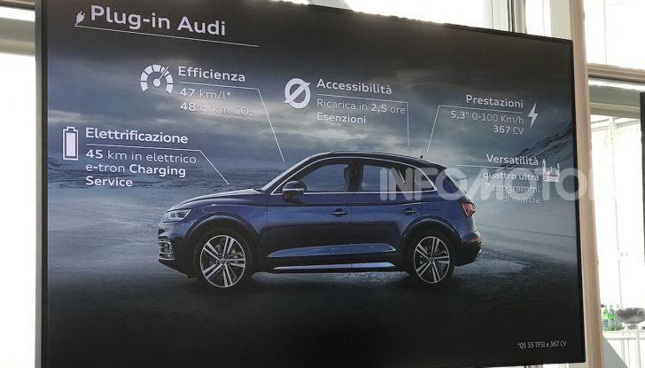 Audi Q5 Tfsi e quattro S tronic, il SUV ibrido sportivo che fa risparmiare - Foto 5 di 12