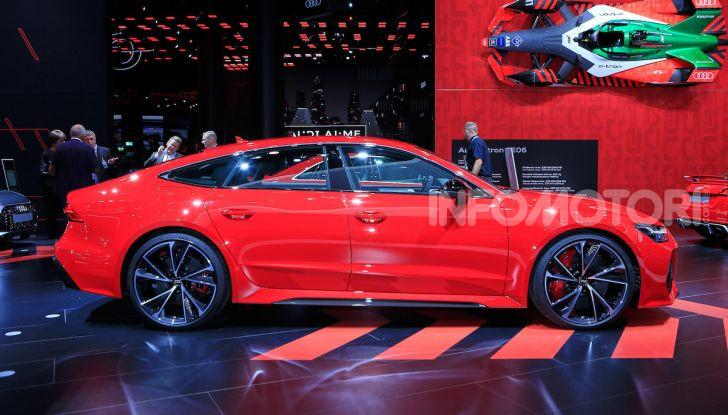 Audi RS7 Sportback 2020: linea muscolosa e prestazioni da supercar - Foto 9 di 19