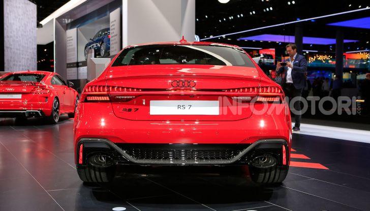 Audi RS7 Sportback 2020: linea muscolosa e prestazioni da supercar - Foto 11 di 19