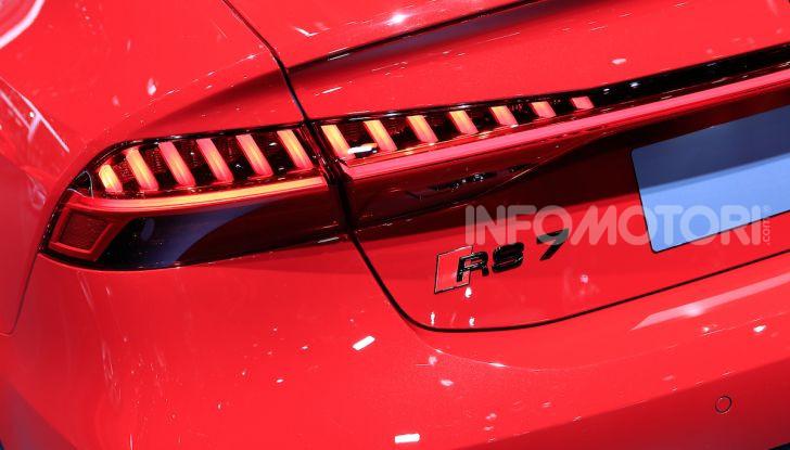Audi RS7 Sportback 2020: linea muscolosa e prestazioni da supercar - Foto 12 di 19