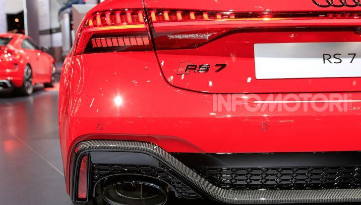 Audi RS7 Sportback 2020: linea muscolosa e prestazioni da supercar - Foto 14 di 19