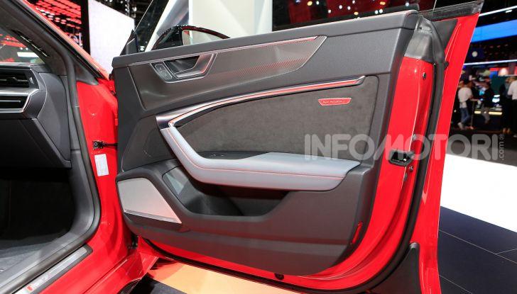Audi RS7 Sportback 2020: linea muscolosa e prestazioni da supercar - Foto 16 di 19