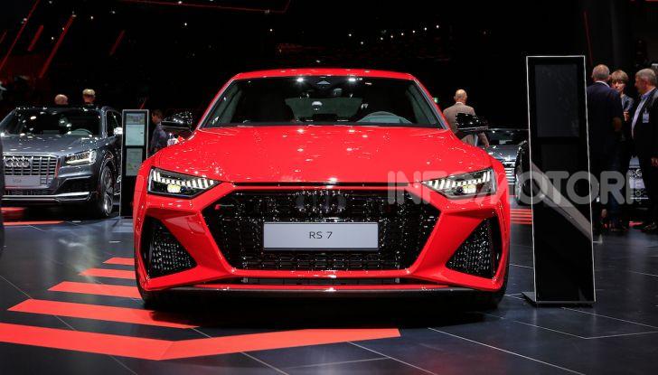 Audi RS7 Sportback 2020: linea muscolosa e prestazioni da supercar - Foto 3 di 19