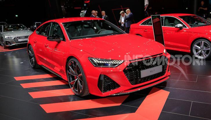 Audi RS7 Sportback 2020: linea muscolosa e prestazioni da supercar - Foto 6 di 19