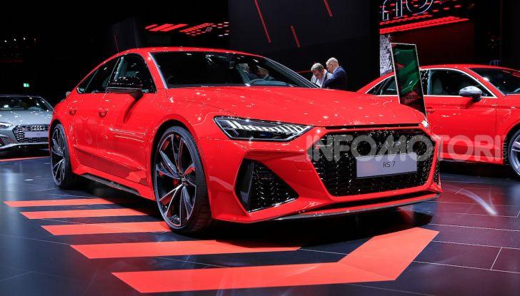 Audi RS7 Sportback 2020: linea muscolosa e prestazioni da supercar - Foto 1 di 19
