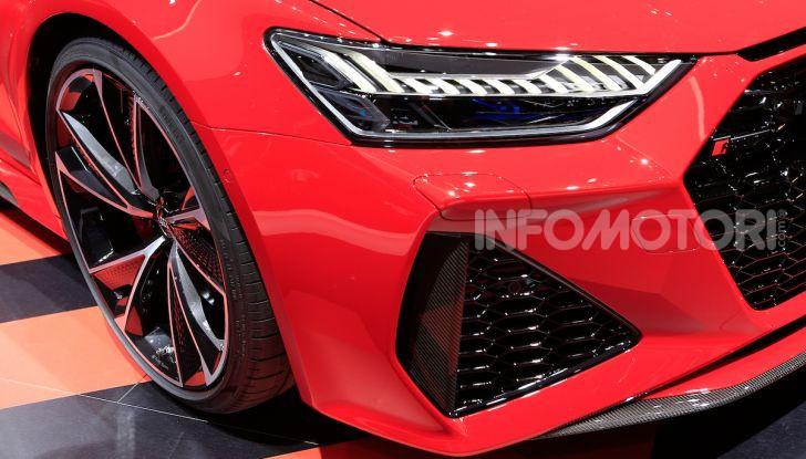 Audi RS7 Sportback 2020: linea muscolosa e prestazioni da supercar - Foto 7 di 19