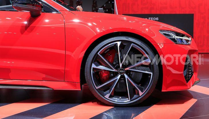 Audi RS7 Sportback 2020: linea muscolosa e prestazioni da supercar - Foto 4 di 19