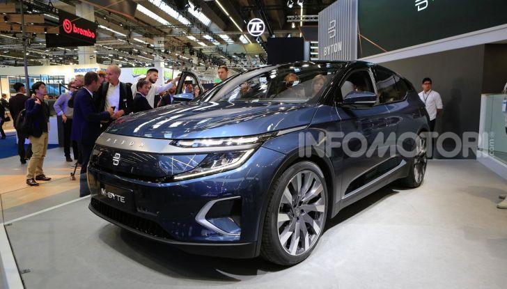 Francoforte 2019, tutte le nuove auto elettriche presentate al Salone - Foto 51 di 64