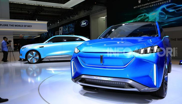Francoforte 2019, tutte le nuove auto elettriche presentate al Salone - Foto 46 di 64