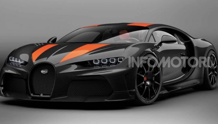 Bugatti Chiron Super Sport 300+: unica e senza compromessi - Foto 2 di 3