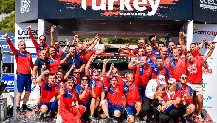 WRC Turchia 2019: Sebastien Ogier e Julien Ingrassia vincono il Rally di Turchia 2019 - Foto 1 di 4