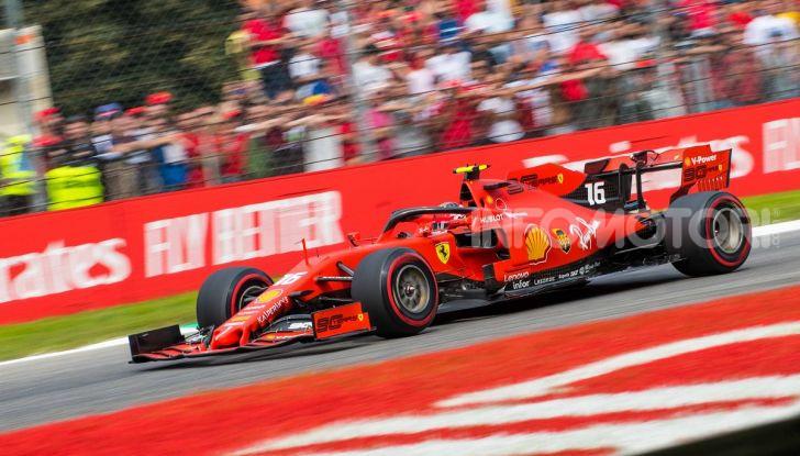 F1 2019, GP d'Italia: back-to-back di Leclerc a Monza, la Ferrari torna in vetta dopo nove anni di astinenza - Foto 3 di 103
