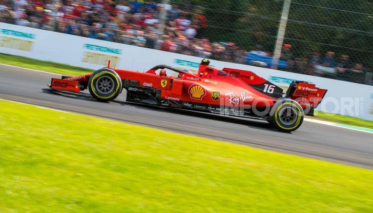 F1 2019, GP d'Italia: back-to-back di Leclerc a Monza, la Ferrari torna in vetta dopo nove anni di astinenza - Foto 6 di 103