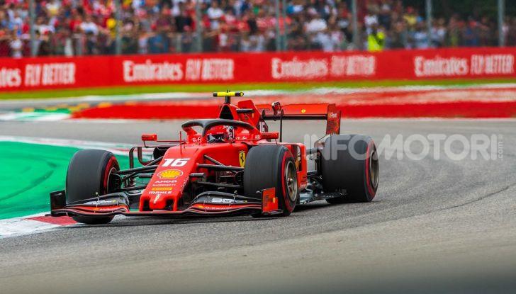 F1 2019, GP d'Italia: back-to-back di Leclerc a Monza, la Ferrari torna in vetta dopo nove anni di astinenza - Foto 5 di 103
