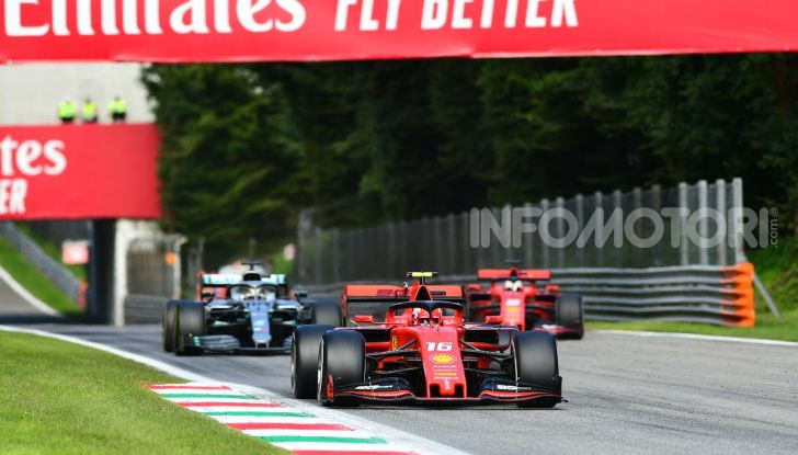 F1 2019, GP d'Italia: back-to-back di Leclerc a Monza, la Ferrari torna in vetta dopo nove anni di astinenza - Foto 84 di 103