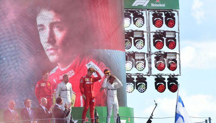 F1 2019, GP d'Italia: Leclerc infiamma Monza e centra la quarta pole della carriera davanti alle Mercedes - Foto 94 di 103