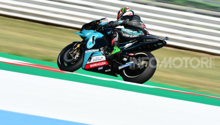 MotoGP 2019, GP di San Marino: Yamaha al top nelle libere di Misano, Vinales il più veloce - Foto 23 di 35