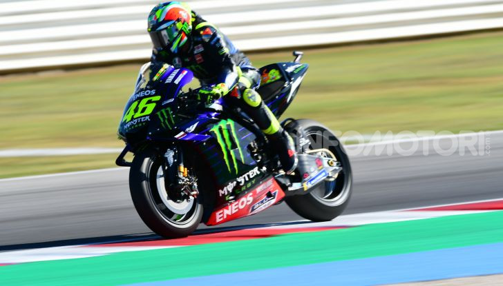 MotoGP 2019, GP di San Marino: Yamaha al top nelle libere di Misano, Vinales il più veloce - Foto 31 di 35