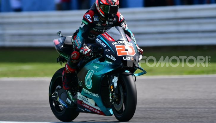 MotoGP 2019: Marquez vince a Misano in volata su Quartararo, terzo Vinales davanti a Rossi - Foto 5 di 35