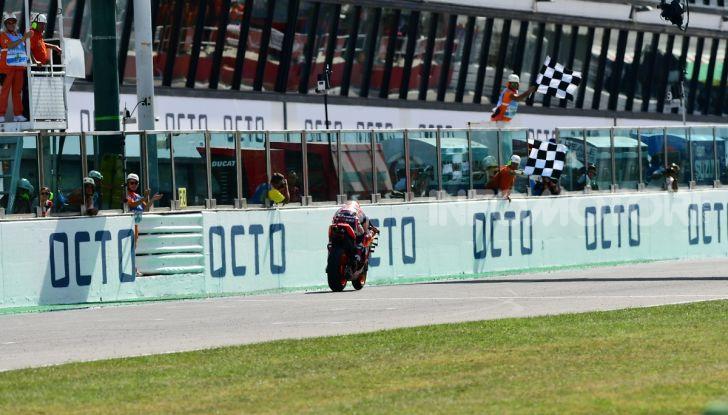 MotoGP 2019: Marquez vince a Misano in volata su Quartararo, terzo Vinales davanti a Rossi - Foto 25 di 35